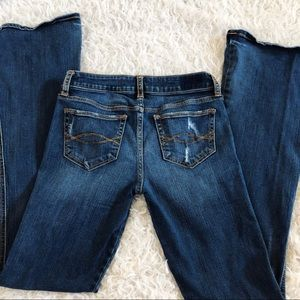 Abercrombie & Fitch Distressed Flare Jeans Size 2